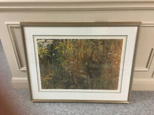 "Robert Bateman ""Marginal Meadow"" Limited Edition (1986)"