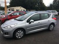 2012 PEUGEOT 207 SW 1.6 HDI ACTIVE 5DR