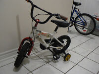 Kids Bike Bicycle with Training Wheels- for girls and boys