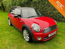 2010 10 MINI CLUBMAN COOPER D Flame Red Manual Diesel