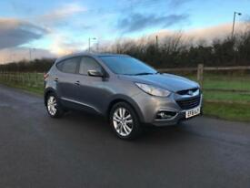 Hyundai ix35 2.0CRDi 16v ( 4WD ) Premium finance available from £40 per week