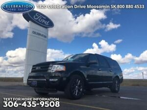2017 Ford Expedition Max Limited MAX  Only 17000KMS!
