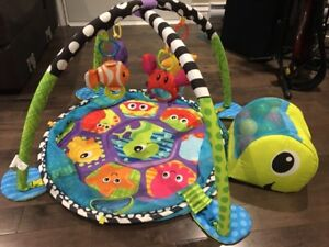 Baby play mat Turtle ball pit