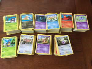 1,000 common mint Pokemon cards