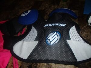 SHOULDER PADS/CHEST GUARD -Great for Ringette