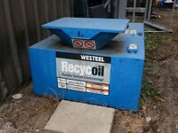 Tank for Collection of Used Oil
