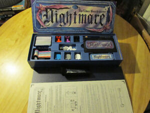 NIGHTMARE Board Game VCR VHS Horror Vintage Chieftain 1991