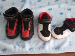 Toddler size 9 Jordans