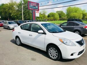 Nissan Versa Sv-Automatic-Air-1.6L-Jamais Accidentée 2014