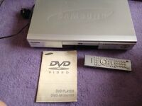 DVD player Samsung Silver