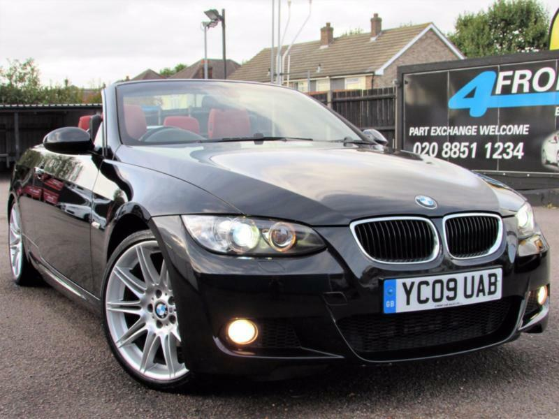 2009 BMW 3 SERIES 320D M SPORT HIGHLINE CABRIOLET AUTOMATIC DIESEL CONVERTIBLE D