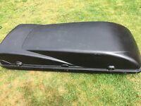 Large Black Roof Box L175cm, W70cm, D35cm