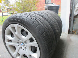 "4 BMW tire winter package  17""/pneu hiver"