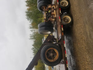 Tractor trailer frame/ axles