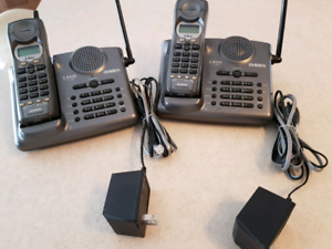 Two-line, Cordless phone system, Uniden 2.4GHZ