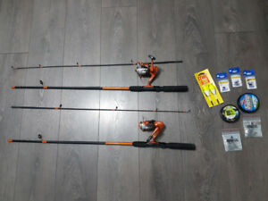 Fishing rods and accessories