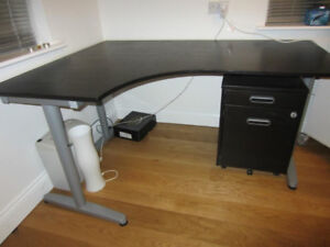 Ikea Galant Desk - Black