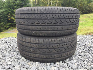 Two 235/55R18 Winter Tires