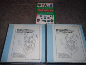 design and construction books - all for $10