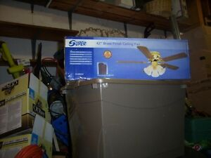 42 inch ceiling fan with light fixture