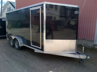 7X16 ENCLOSED TRAILER FOR RENT $75/DAY