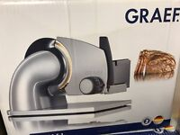 Nearly New Graef bread slicer RRP:180