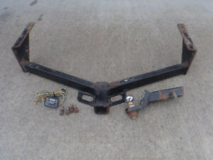 Caravan / Town + Country trailer hitch