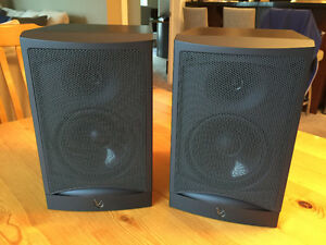 Infinity RS1 Bookshelf Speakers, Matched Pair, Mint