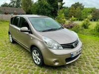 2009 Nissan Note 1.6 Tekna 5dr Auto MPV Petrol Automatic