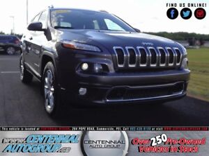 Jeep Cherokee Limited 4WD 3.2L V6 2016