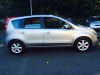 NISSAN Note 2006..1.6 MPV Automatic 5 Door Hatchback PETROL