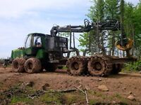 2011 John Deere Forwarder