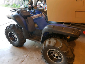 2013 Yamaha Grizzly 700 (trade for Jeep)