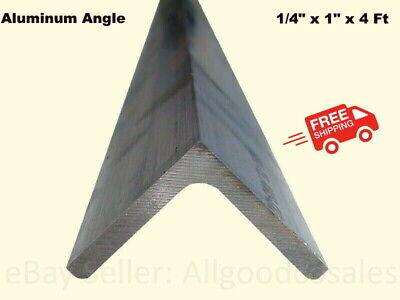 Aluminum Angle 14 X 1 X 4 Ft Length Unpolished Alloy 6061 90 Stock