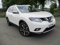 2017 17 Nissan X-Trail 1.6 dCi Diesel Tekna 4X4 7 Seat Manual with Navigation