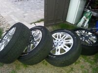 Perfect Condition Factory Ford F150 Platinum Rims and Tires