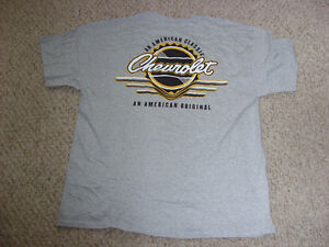 Chevrolet T-Shirts Sz XL, 3 Different designs, New and Unworn