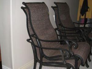 Cast Aluminum Sling Chairs