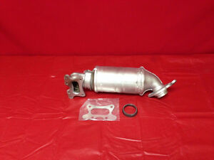 Fit Honda Accord Front Manifold Catalytic Converter 2008 2009-11
