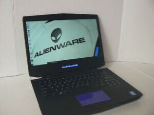 "ALIENWARE Gaming Laptop 14"" Core i7 2.40ghz 16gb Ram Windows 10"