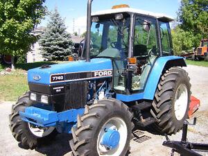Ford 7740SLE Tractor Kingston Kingston Area image 2