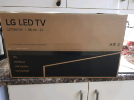 LG 22 inch full hd led tv and monitor as new ssTN410V-PZ