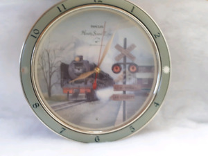 Train themed  clock with lights and sound effects