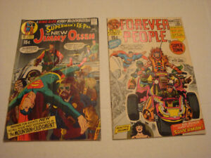 Jimmy Olsen 134 intro Darkseid et Forever People 1 avec Darkseid