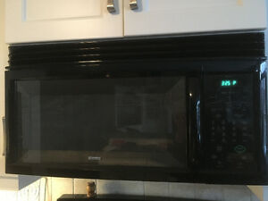 Kenmore Black Over the Range Mounted Microwave Oven