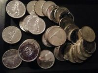 Lot of Canadian Silver Dollars