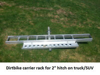 Dirtbike Hitch Carrier