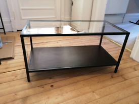 Glass Top Coffee/TV Table