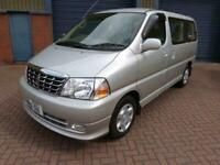 2001 Toyota Hiace Only 7,800 Miles Yes Only 7,800 From New Auto MPV Petrol Auto