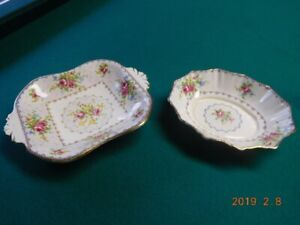 Vintage serving dishes -  Fine China